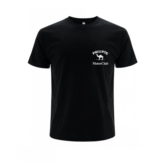 Image of Private Camel Club T-shirt Black