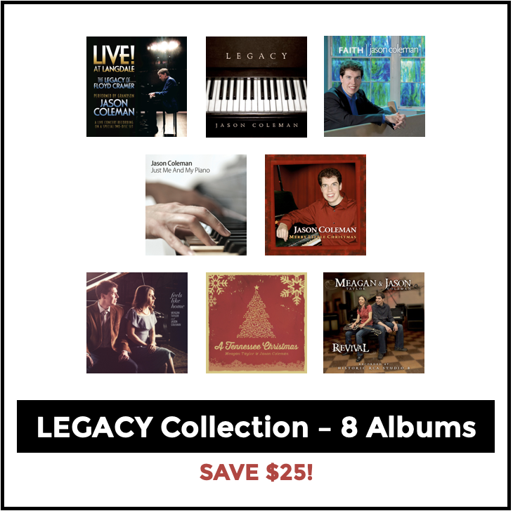Image of The Legacy Collection - 8 Albums (Save $25!)