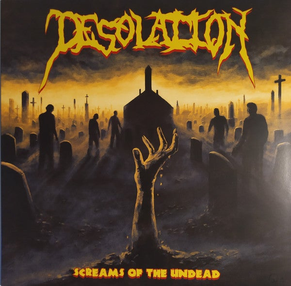 Image of DESOLATION - Screams Of The Undead LP