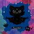 Twinkle Bat Holo Sticker Image 3