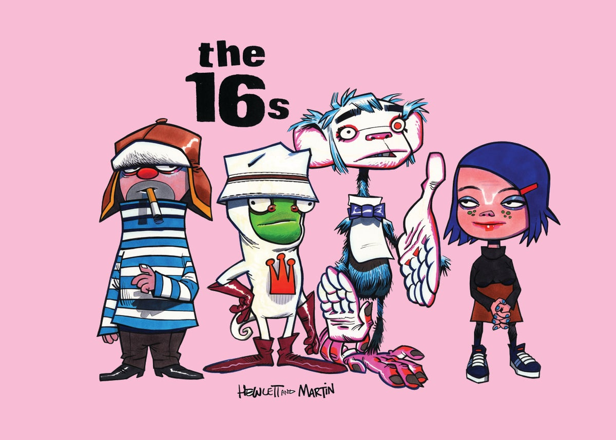 """Image of Hewlett & Martin's """"The 16s"""" Signed Book Pack - Pink Edition"""