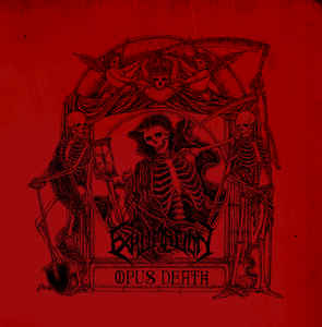 Image of EXHUMATION - Opus Death LP