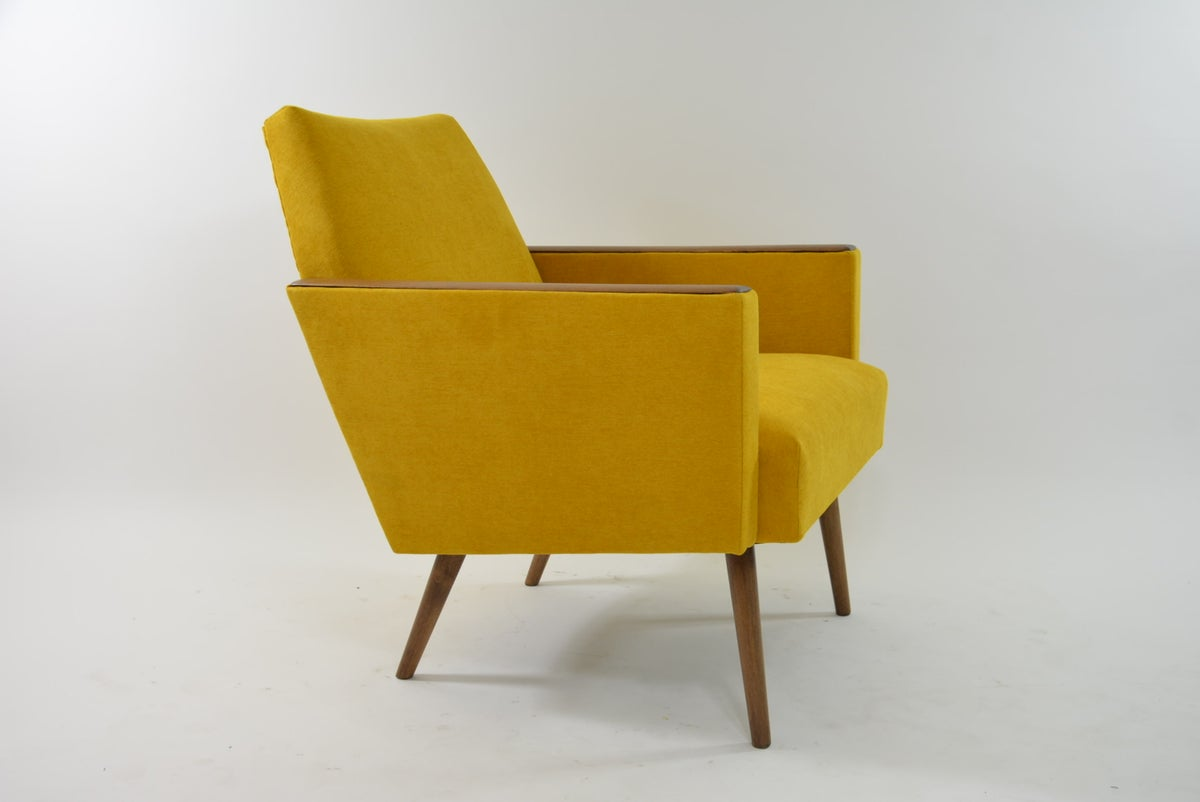 Image of Fauteuil CUBE jaune