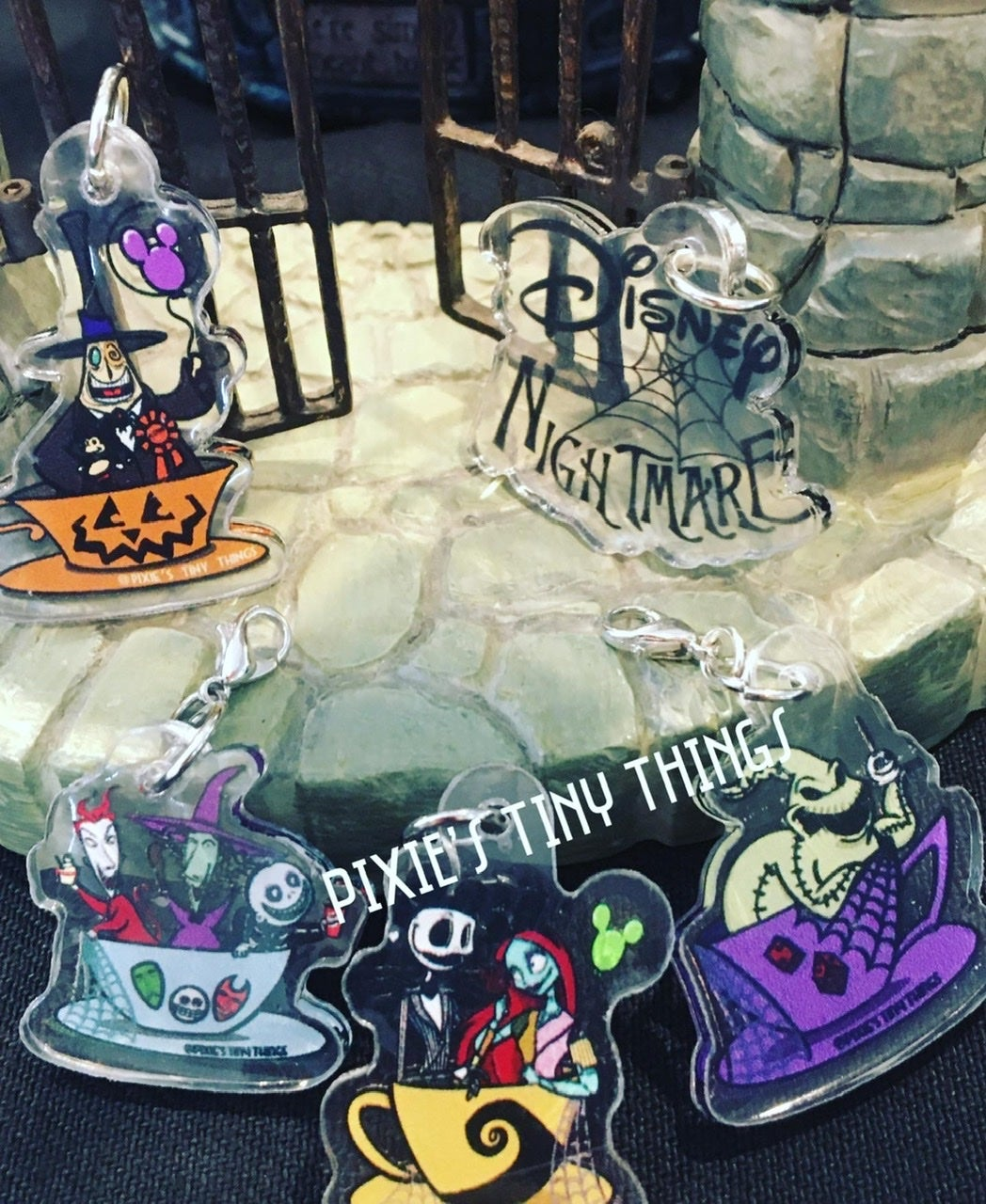 Image of Characters in Teacups- Charms
