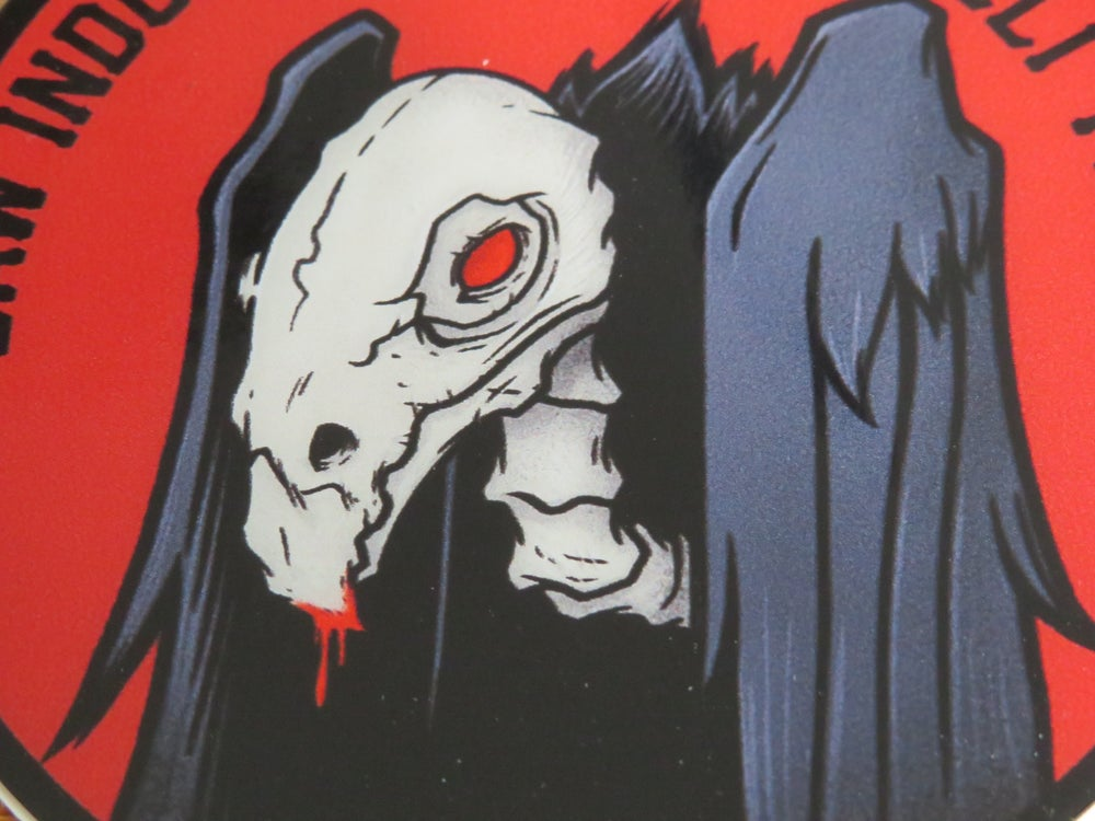 Image of Zombie Vulture Limited Edition Stickers