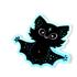 Twinkle Bat Holo Sticker Image 5