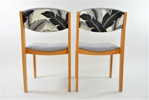 Image of Chaises grises Feuilles