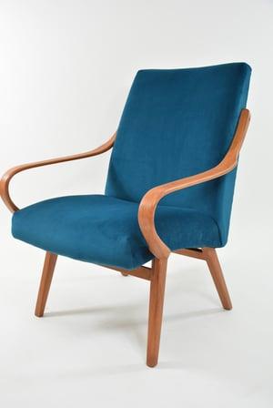 Image of Fauteuil TON bleu canard