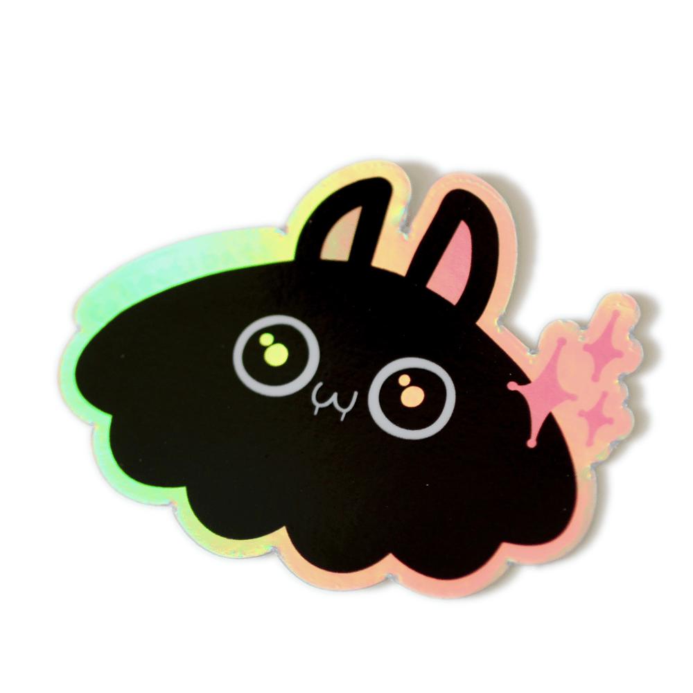 Blobbat Holo Sticker