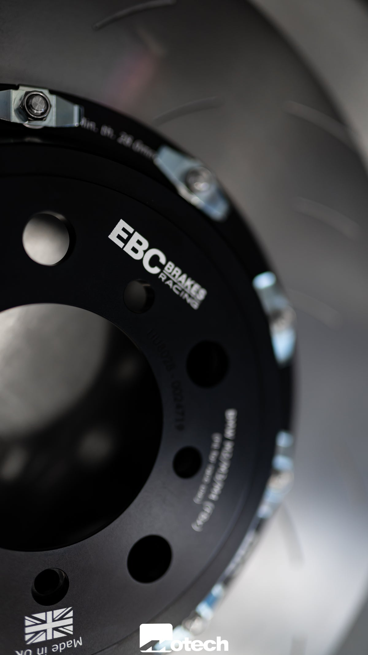 Image of EBC Two-Piece Floating Disc & Pads (BMW M2 M3 M4)  With EBC pad
