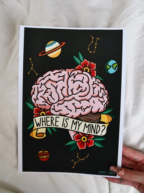 Image of Print Where Is My Mind