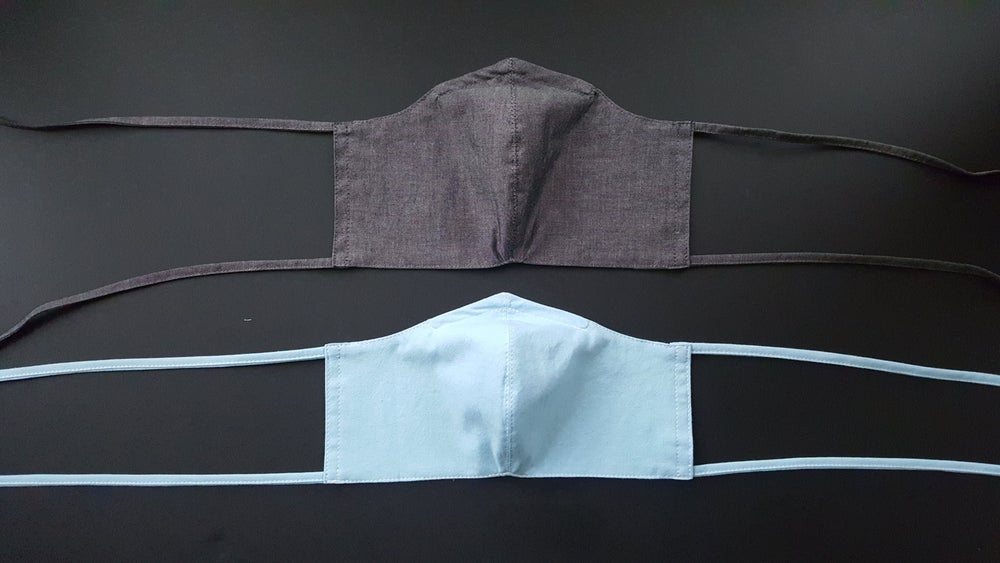 Image of New chambray masks