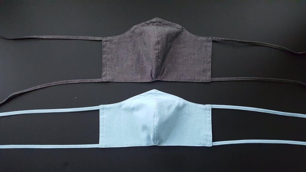 Image of New chambray masks