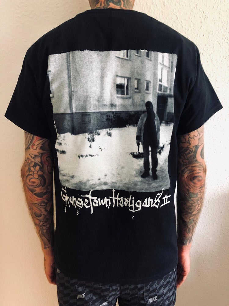 "Image of Shirt ""Grungetown Hooligans II"" Black"
