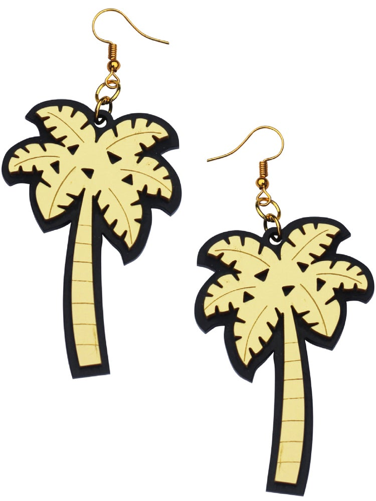 Image of Palm Tree Earrings