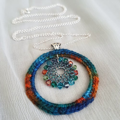 Image of CIRCLES Pendant - Ocean Jewels