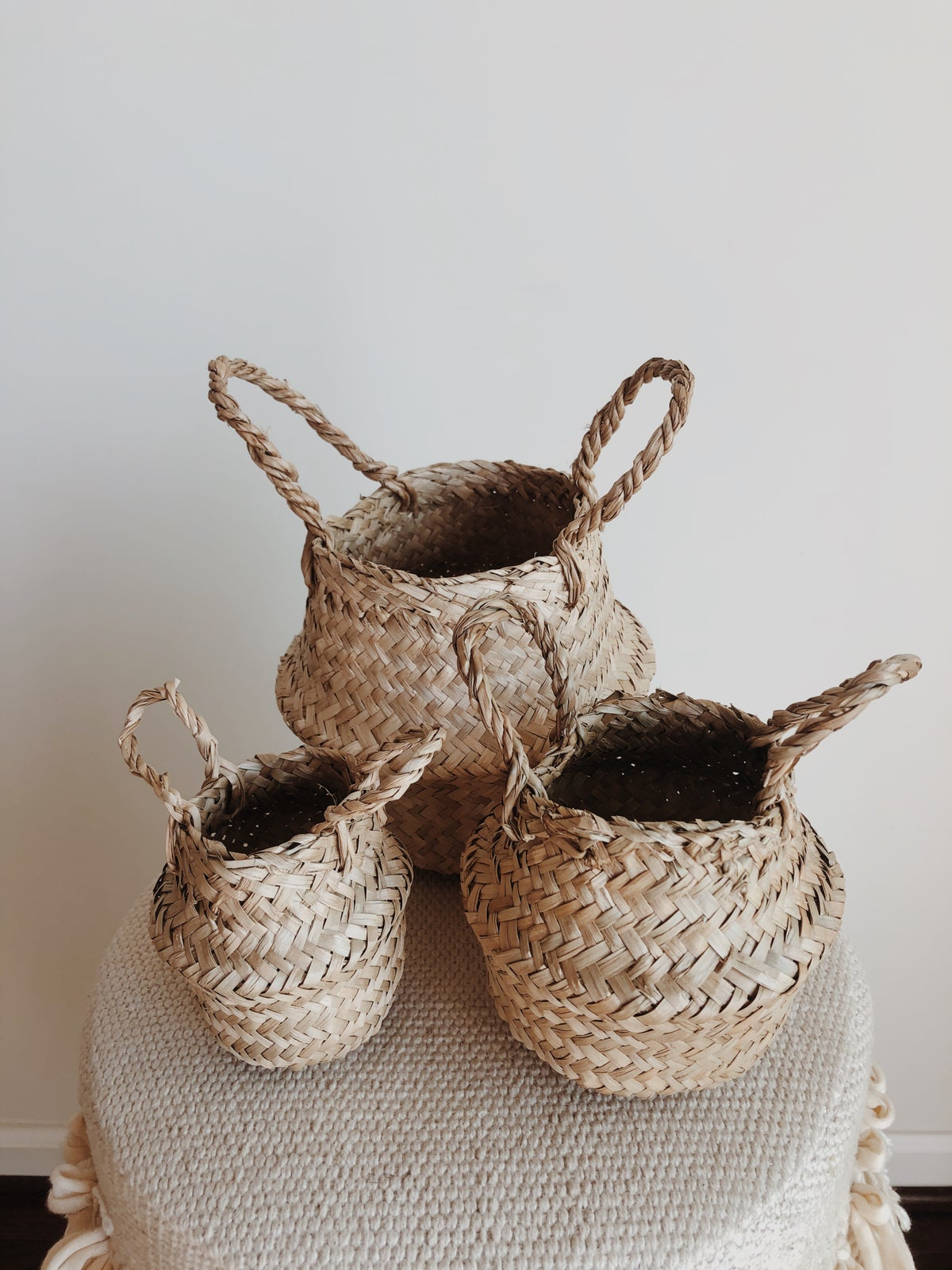 Image of mini belly baskets
