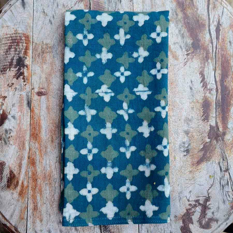 Image of Green Chorus Set/4 Napkins (organic cotton)