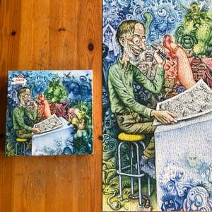 "Image of Robert Crumb ""Who's Afraid of Robert Crumb?"" Jigsaw Puzzle"