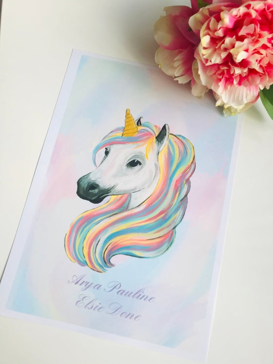 Image of Unicorn Art Print