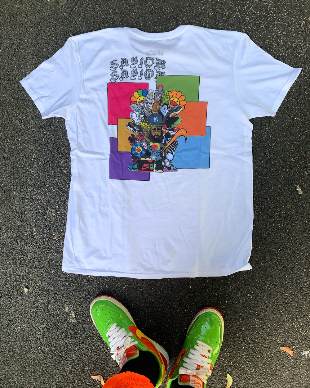 Image of I GOT YOUR BACK + Savior tee
