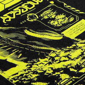 Image of T-Shirt ALIEN FLOW (lime)