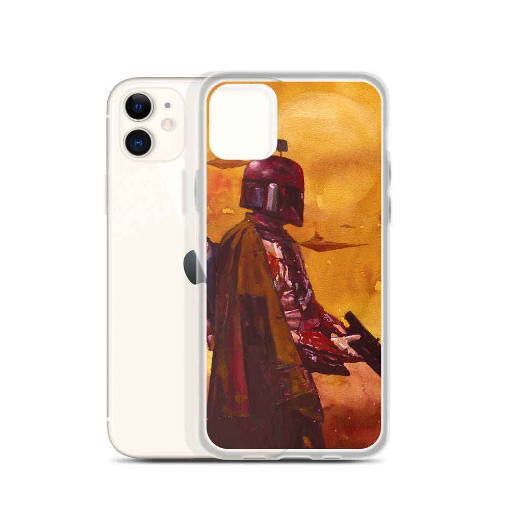 Image of BOBA FETT iPhone Case