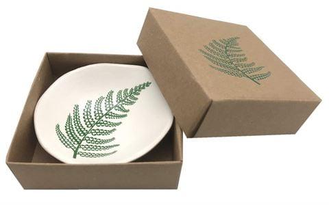 Jo Luping Design - Green Fern Porcelain Bowl