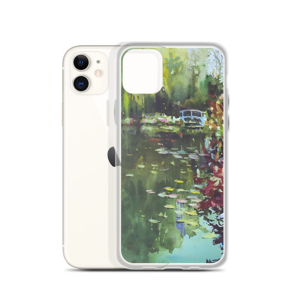 Image of MONET'S GARDEN iPhone Case