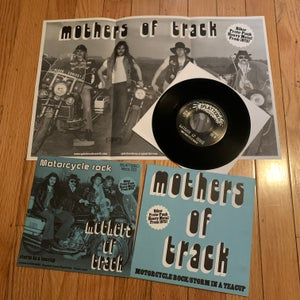 "Image of Mothers of Track - Motorcycle Rock 7"" RE"