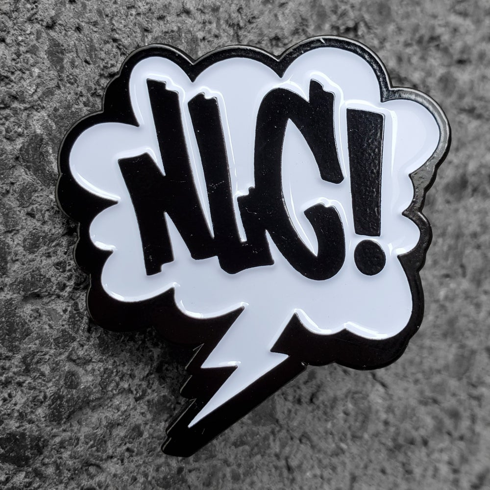 Image of NLCxMAD Enamel Pin