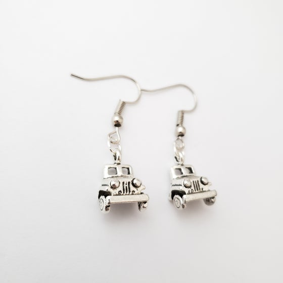 Image of Front End JEEP Earrings