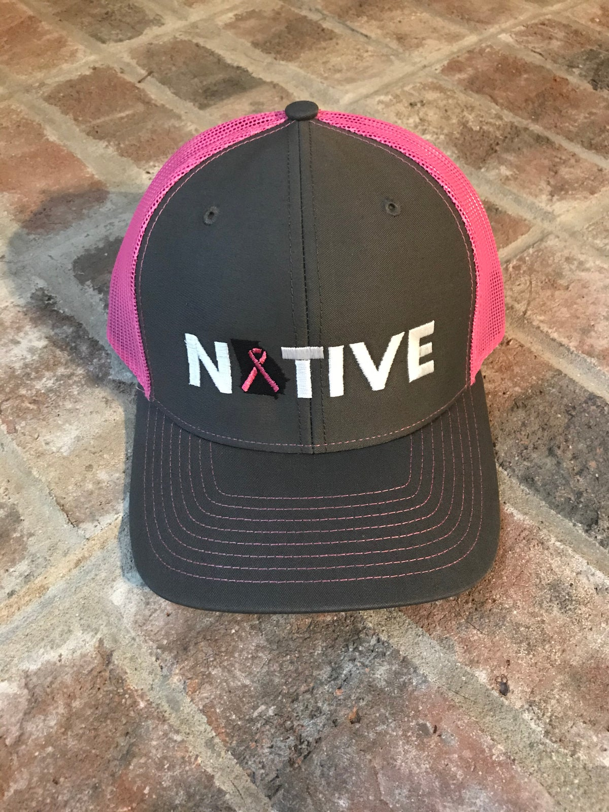 Image of Native Breast Cancer Trucker
