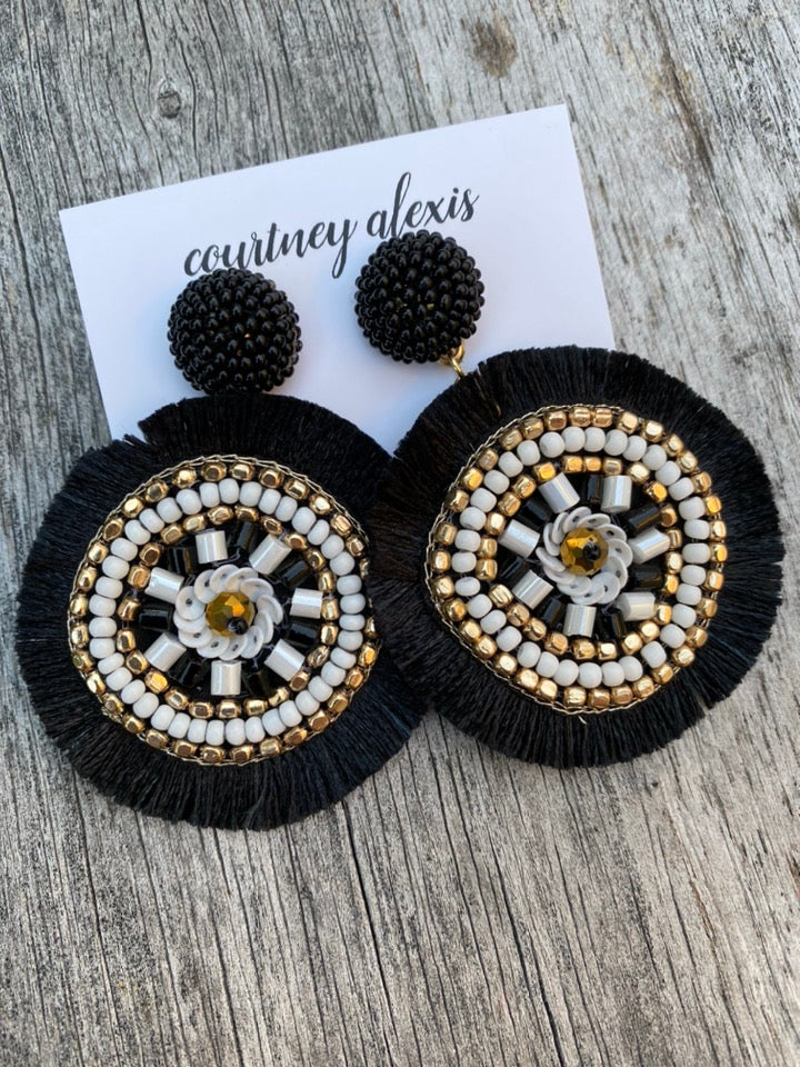 Image of Bianca earrings.