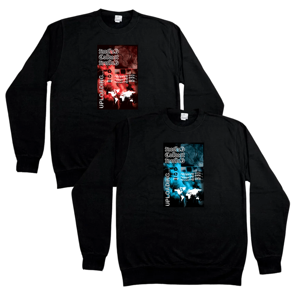 THUNDER GRAPHIC SWEATER
