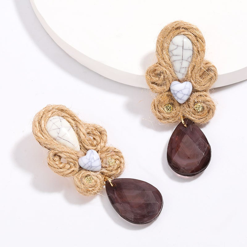 Image of Niche Style Threaded Earrings