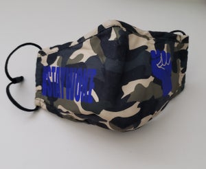 Image of Camo Staywoke Face Mask