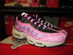 "Image of Air Max 95 Premium ""Fire Pink"""
