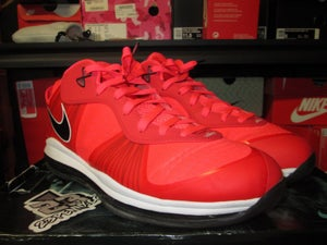 "Image of LeBron VIII (8) V2 Low ""Solar Red"" *PRE-OWNED*"