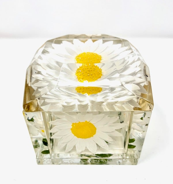 Image of Jumbo Mini Painted Daisy Box