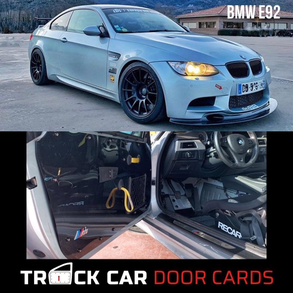 Image of BMW E92/E93 Track Car Door Cards