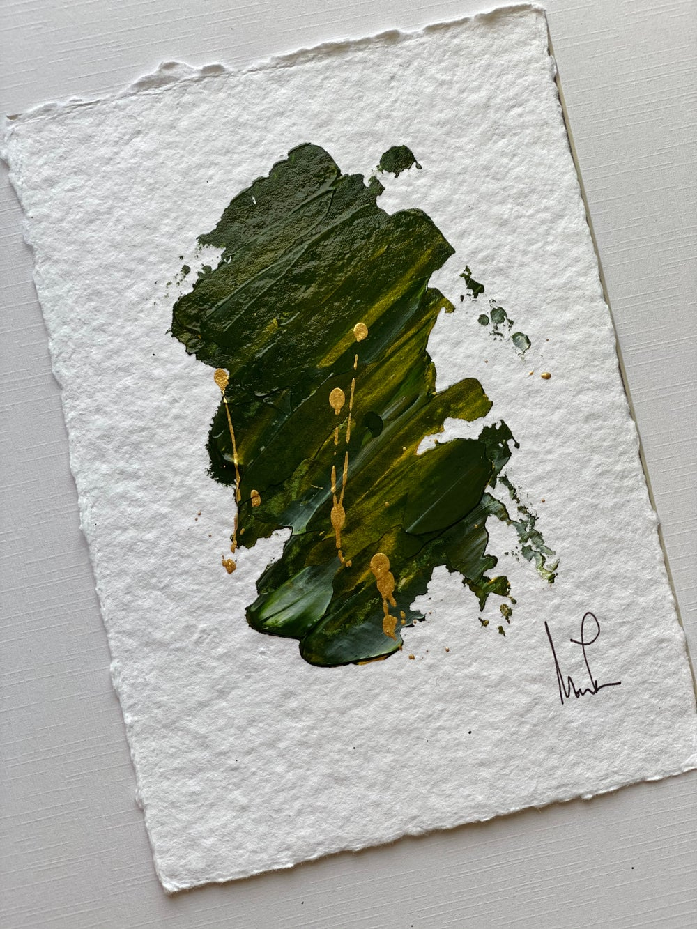 Image of (1st Series) New Emerald City Cotton Rag Paper (1)