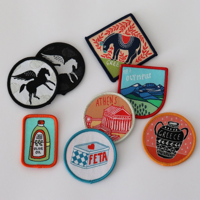 Image of Sew On Patches