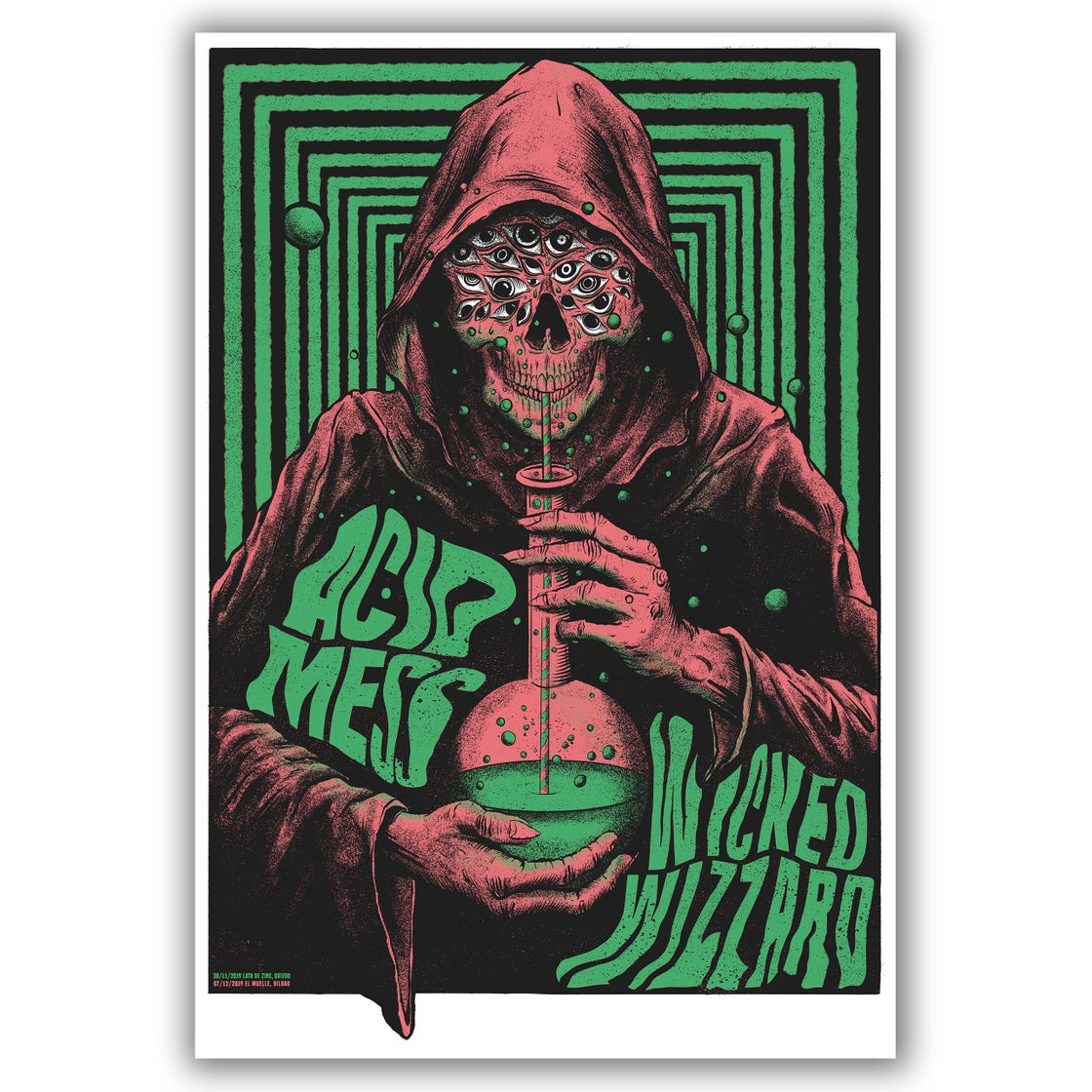 Image of Wicked Wizzard + Acid Mess Poster