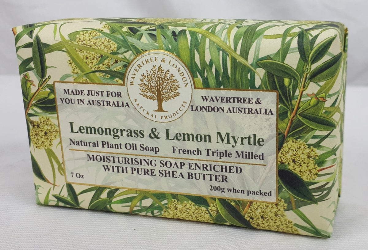Image of Wavertree & London Soap - Lemongrass & Lemon Myrtle