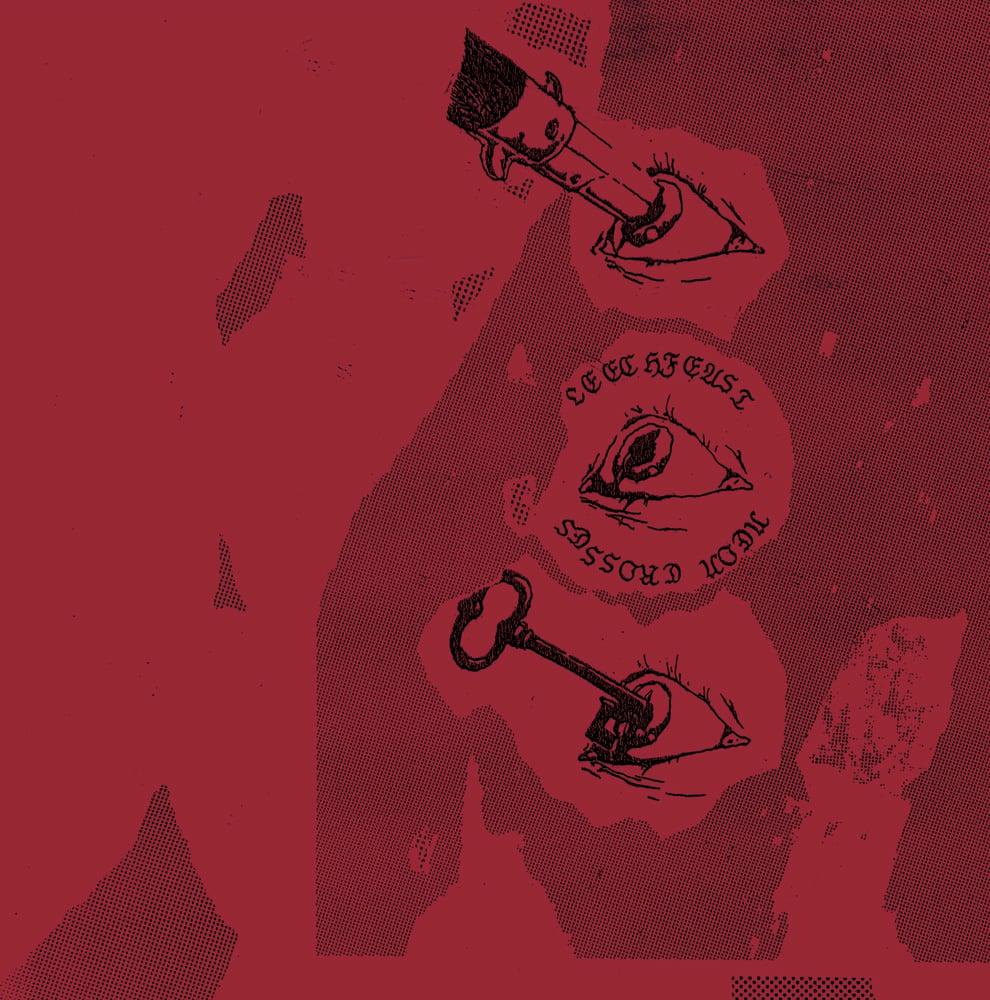Image of Leechfeast - Neon Crosses LP Repress (DC32R)
