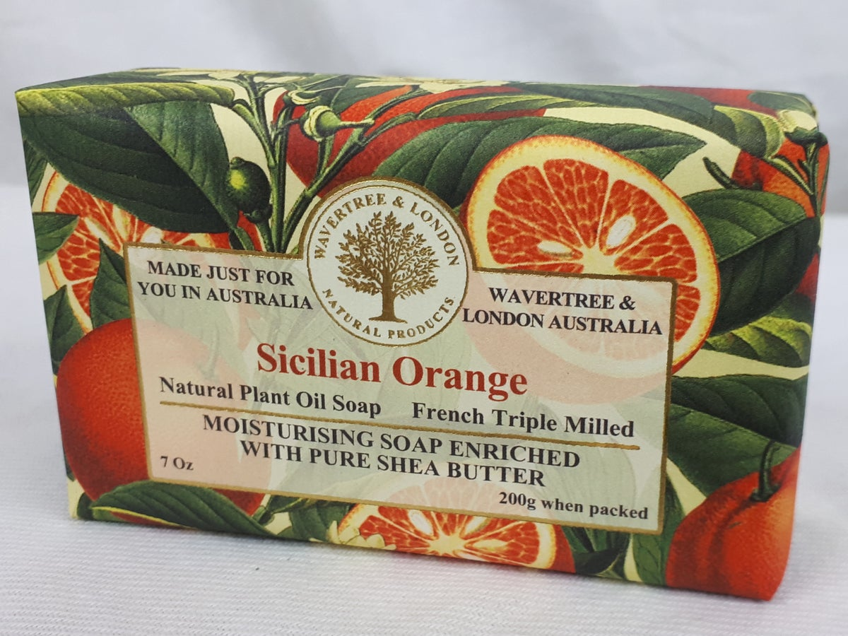 Image of Wavertree & London Soap - Sicilian Orange