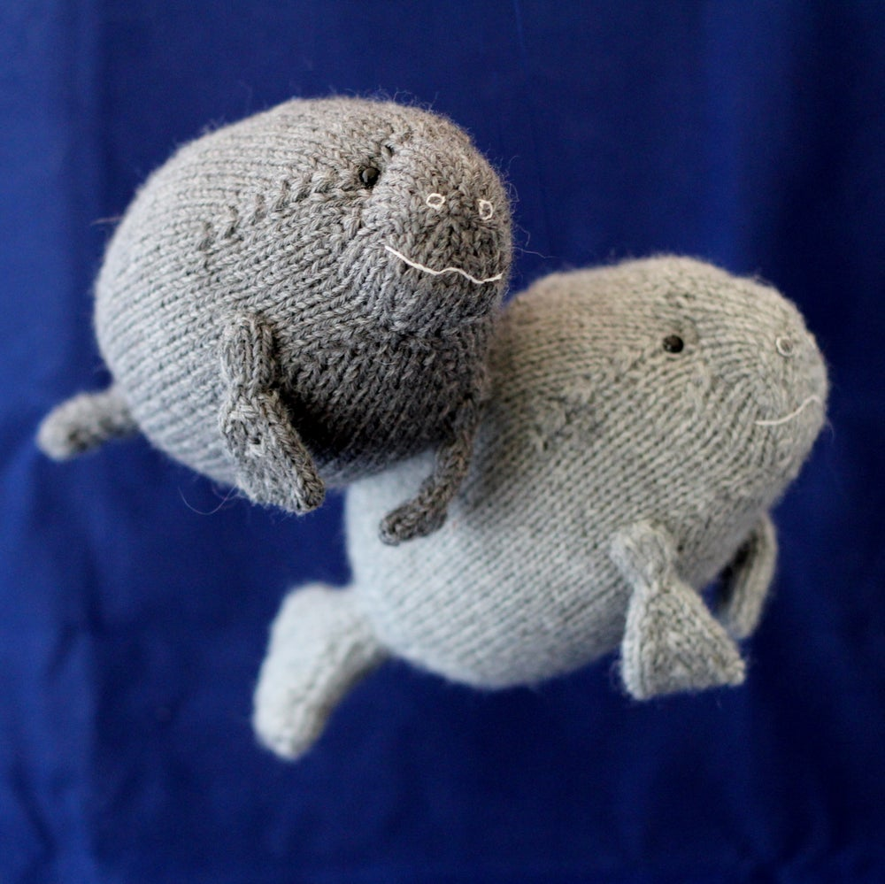 Image of Manatee Knitting Pattern