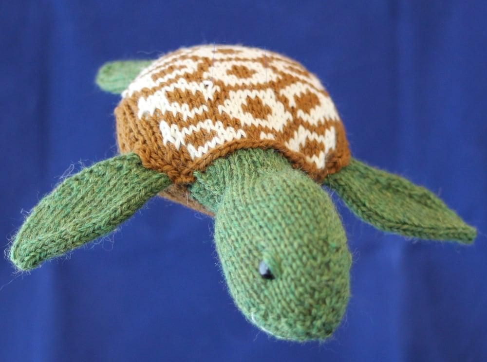 Image of Sea Turtle Knitting Pattern