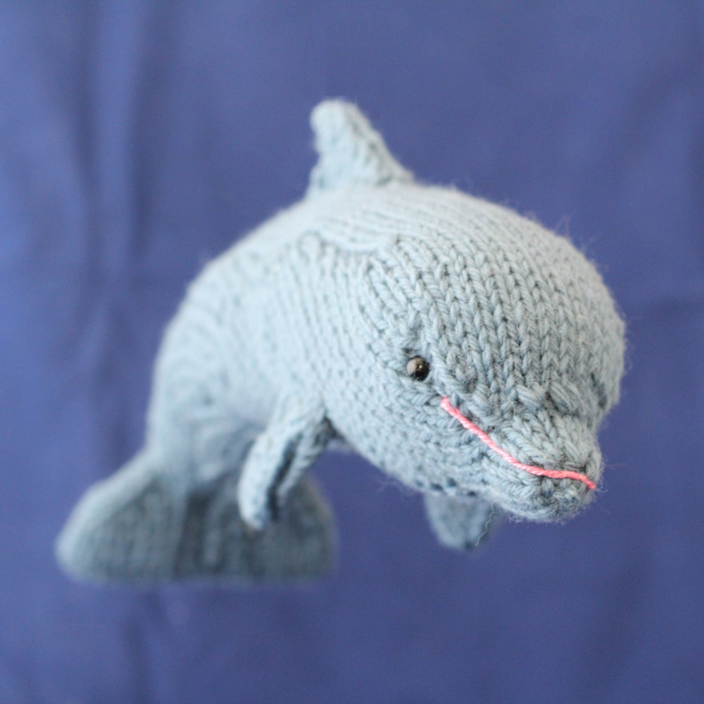 Image of Dolphin Knitting Pattern